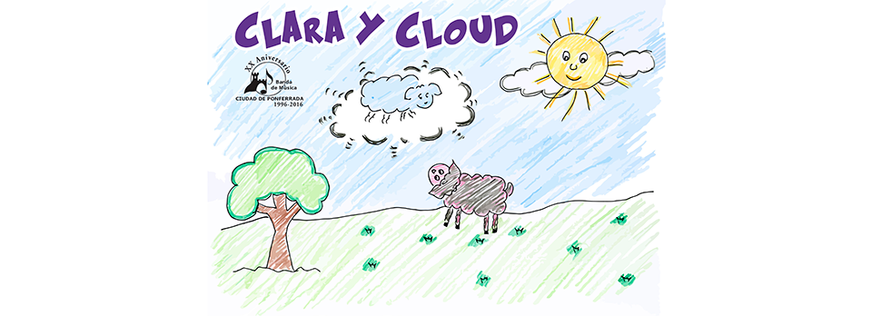 'Clara y Cloud' ensemble musical para niños hasta seis años 1