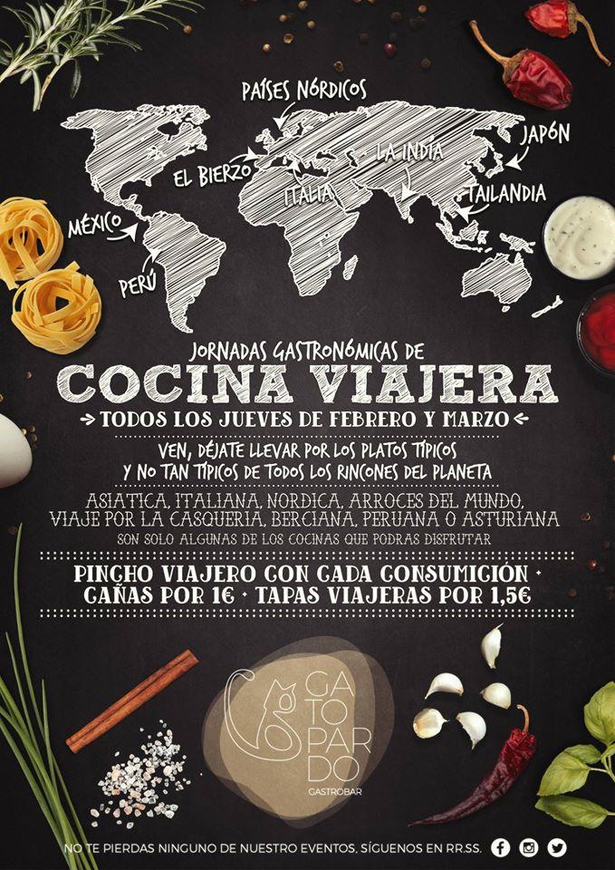 Gatopardo presenta la 'Cocina viajera' pinchos de platos típicos regionales durante febrero y marzo 1