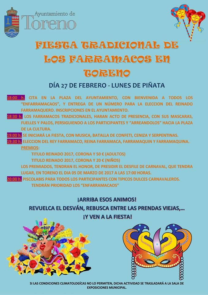 Toreno recupera la fiesta de 'Los Farramacos', el lunes de piñata 1