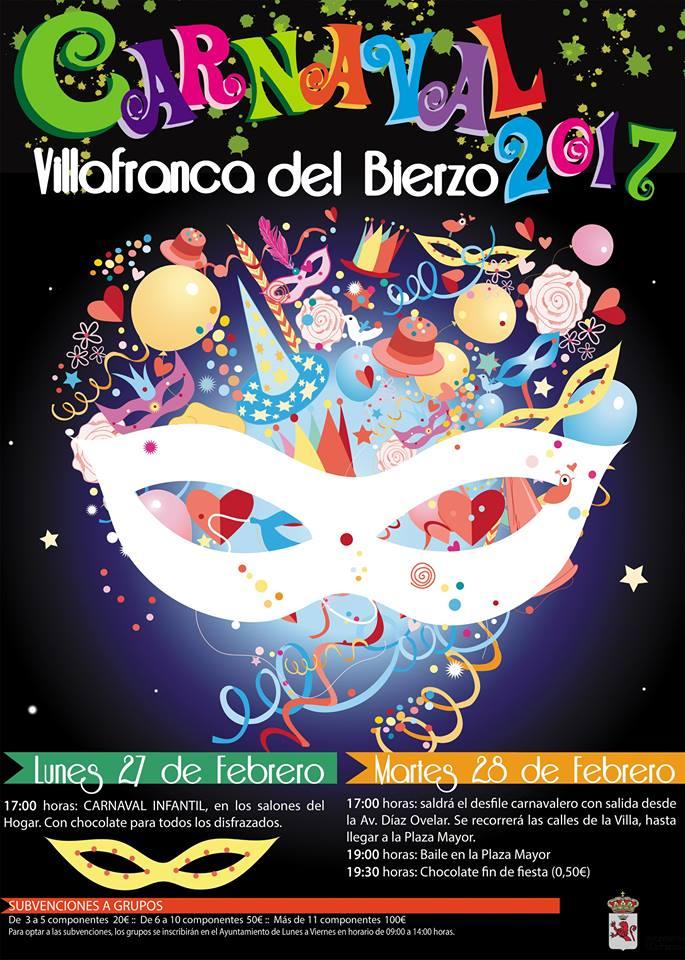 El carnaval también llega a Villafranca del Bierzo 1