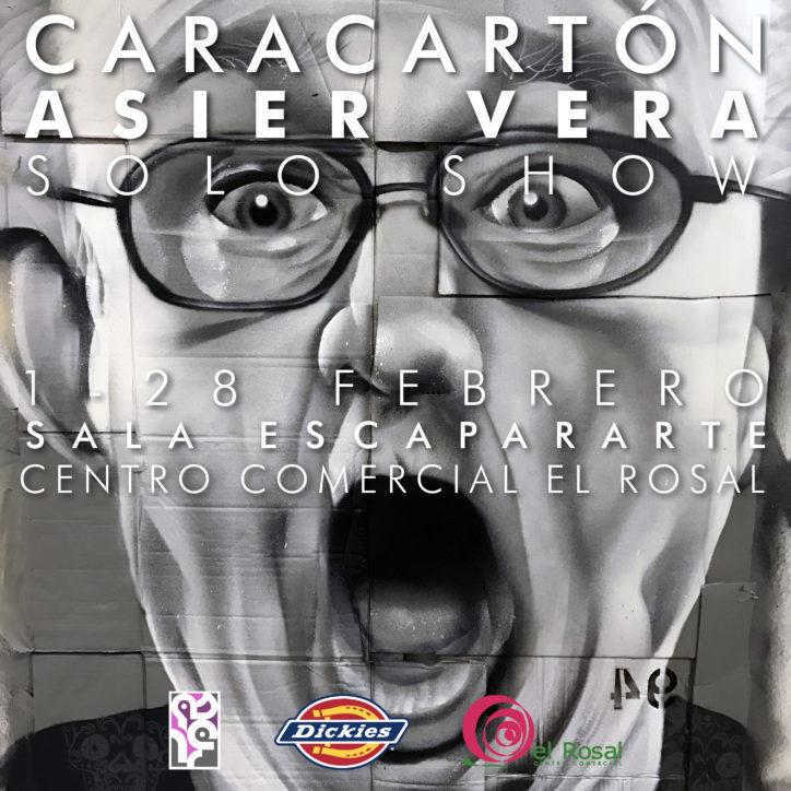 Caracartón, Exposicion de Asier Vera 1