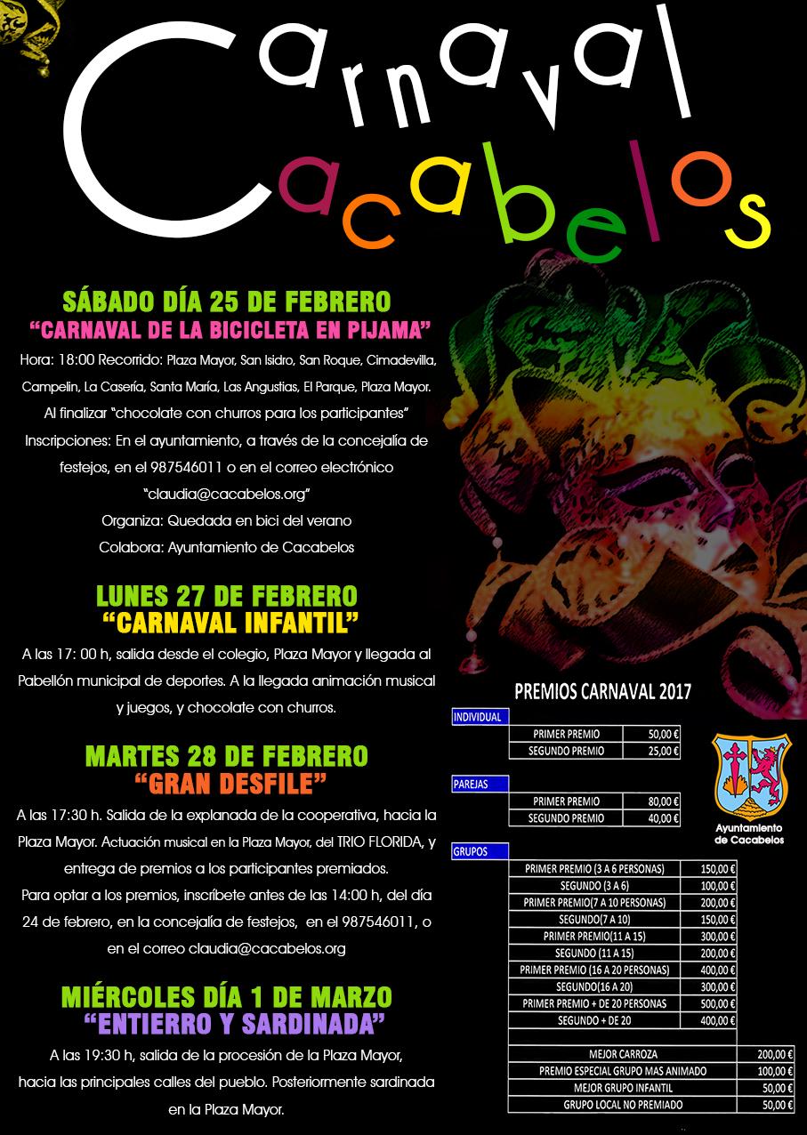 Así celebran el Carnaval 2017 en Cacabelos 1