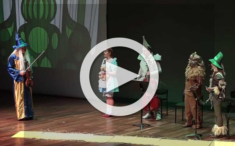Un cuentacuentos musical inspirado en 'El mago de Oz' para disfrutar en familia 1