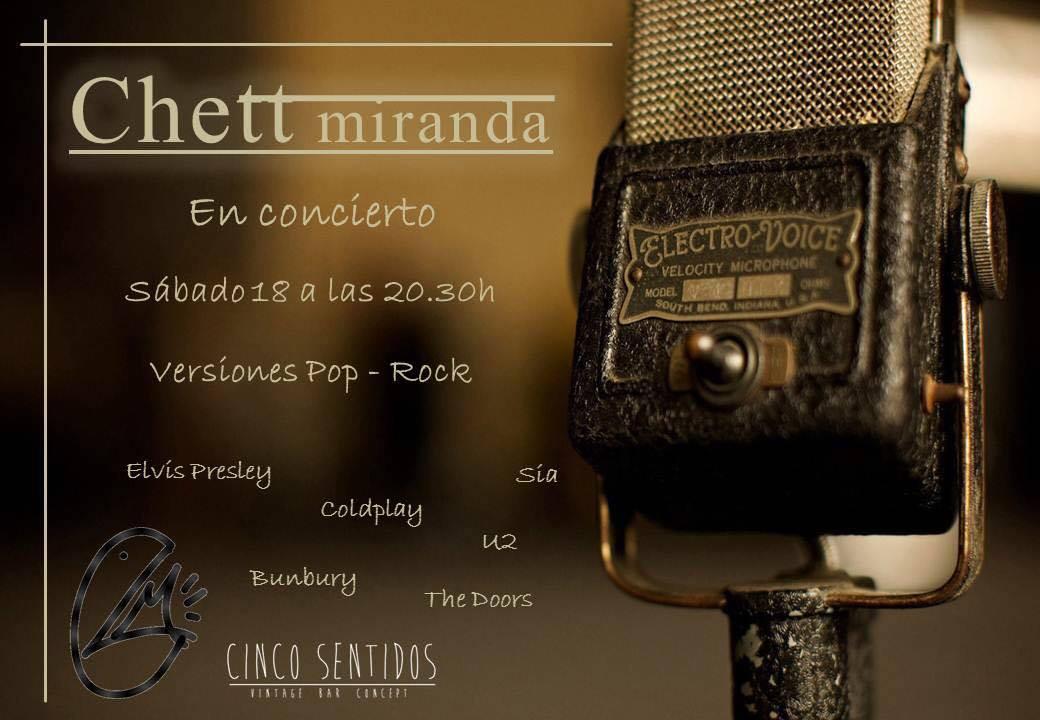 Concierto de Cheet Miranda en el Café Cinco Sentidos 1