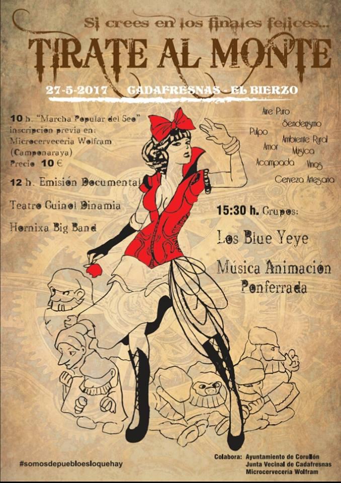 El festival 'Tírate al monte 2017 se realizará en Cadafresnas el próximo mes de mayo 1