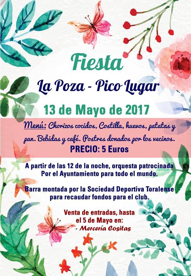 Fiestas en los barrios de La Poza y Pico Lugar de Toral de los Vados 1
