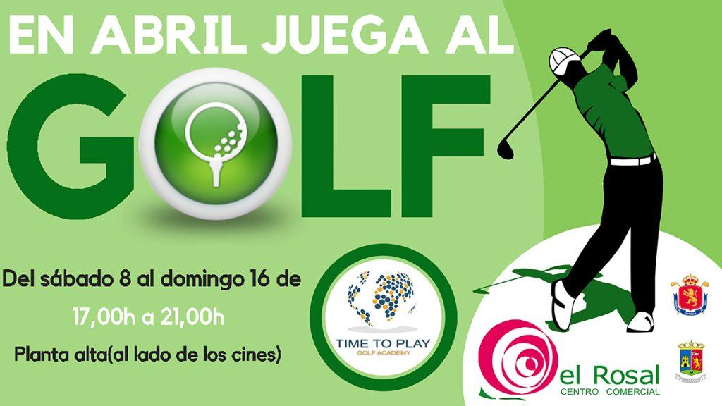 Juega al golf en el Centro Comercial El Rosal 1