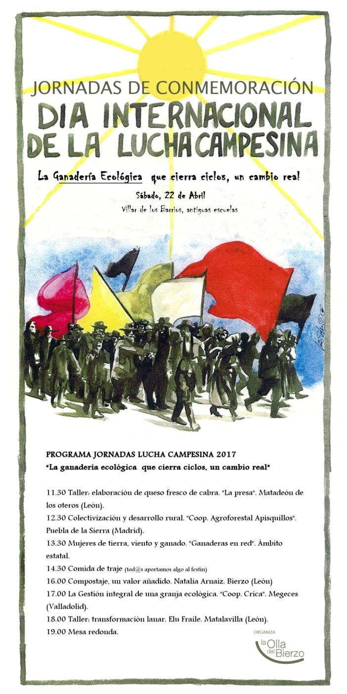 La olla del Bierzo celebra el día de la lucha campesina con actividades y feria 1