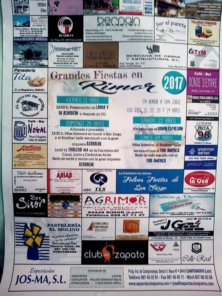 Fiestas de San Jorge en Rimor 2017 1