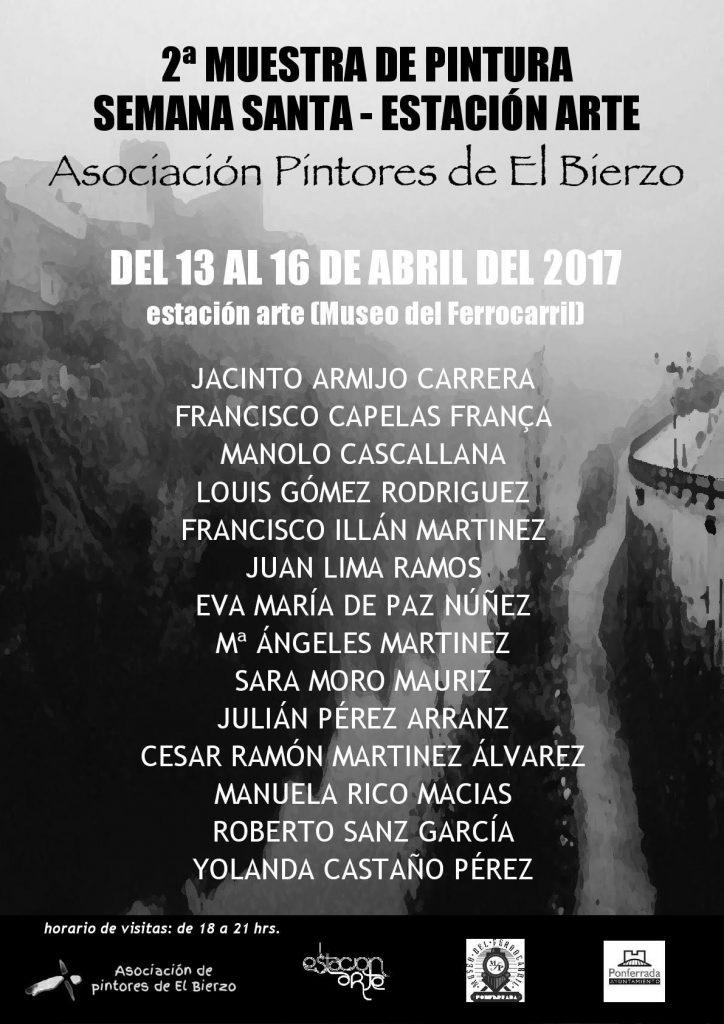 Exposición colectiva de pintura en EstacionArte de Ponferrada 1
