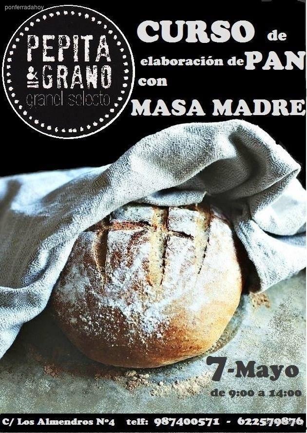 Curso de elaboración de pan con masa madre 1