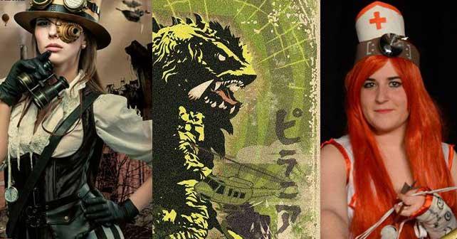 La otra Semana Santa ponferradina: Rockera, freak y steampunk 1
