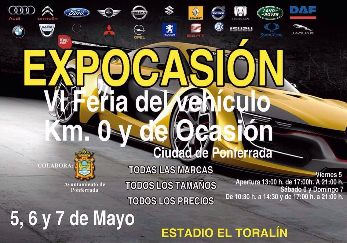 Expocasión, Feria del vehículo de ocasión Ciudad de Ponferrada 1