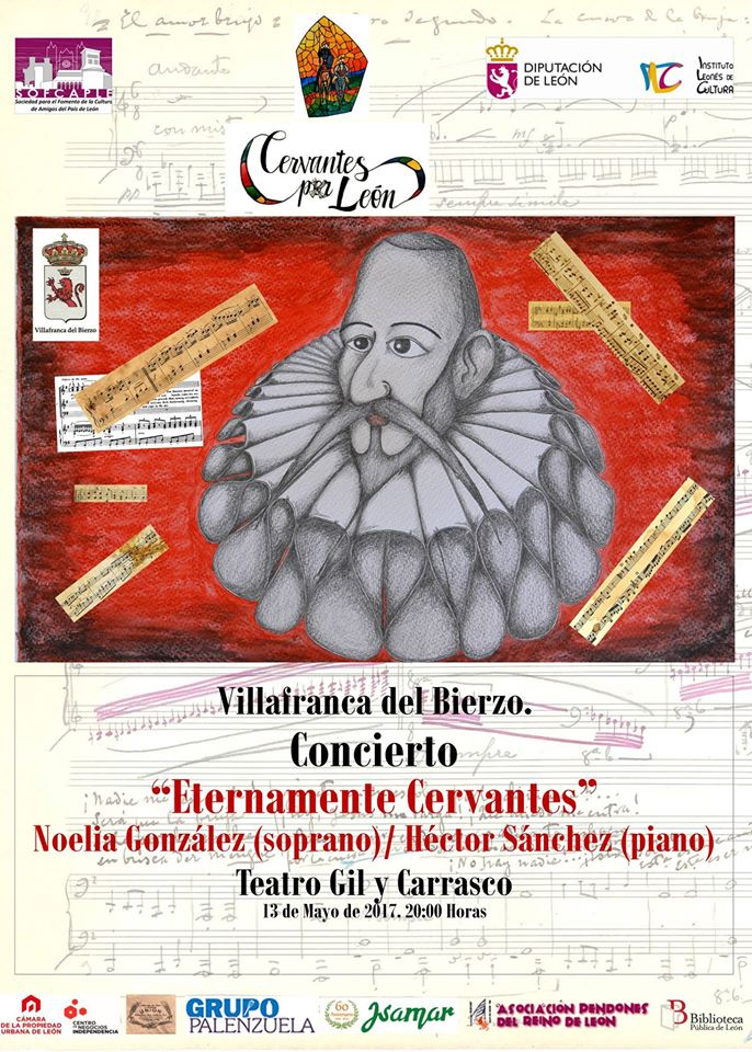 Concierto 'Eternamente Cervantes' en el Teatro Gil y Carrasco de Villafranca del bierzo 1