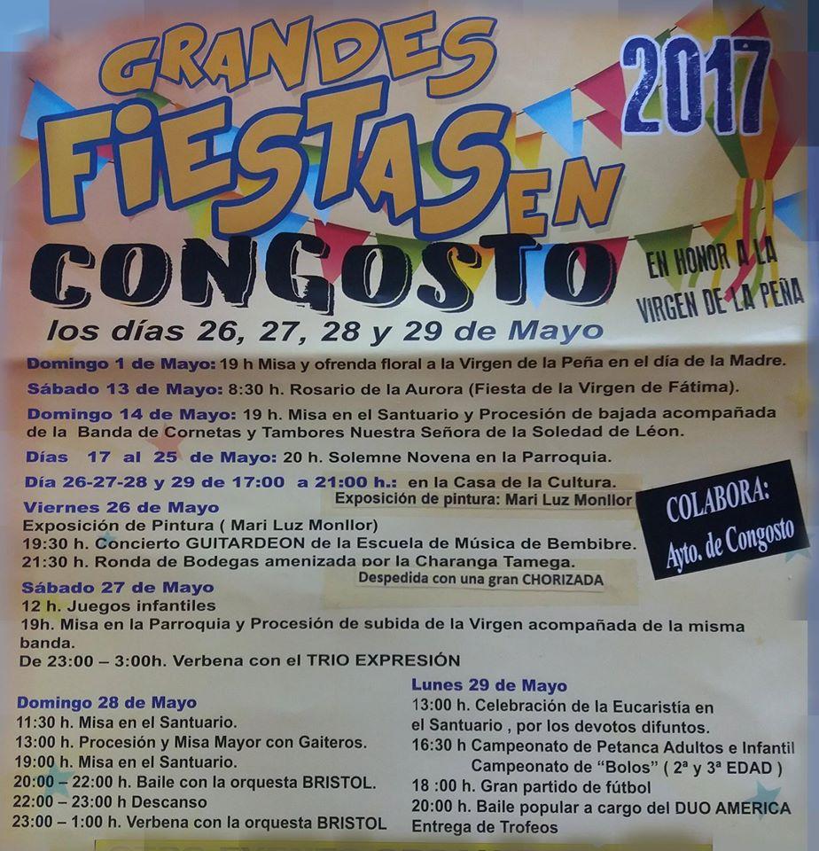 Grandes Fiestas en Congosto 1