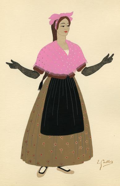 Historia de la moda en las colecciones de grabados españoles 1