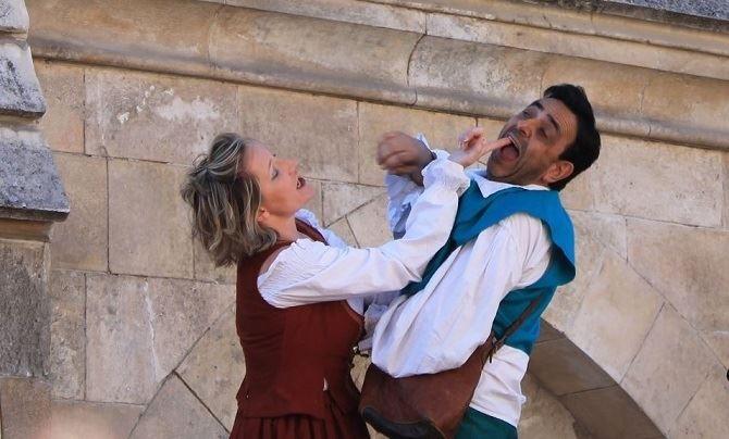 Teatro en Cubillos del Sil, producciones Zarabanda presenta: cómicos de paso 1