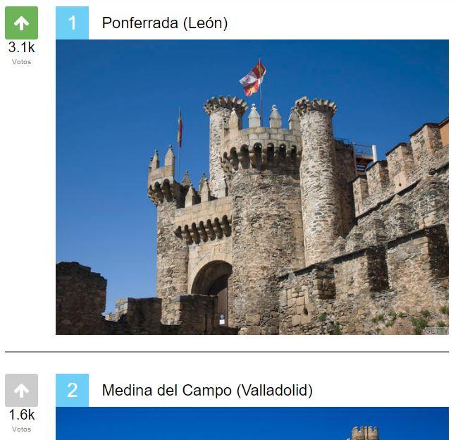 El Castillo de Ponferrada elegido el más bonito de España por los lectores de 'El HuffPost' 1