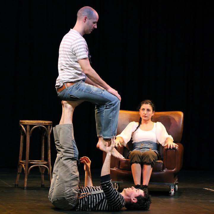 Gigante, una fusión de circo, teatro, danza y poesía en la Sala Río Selmo 1