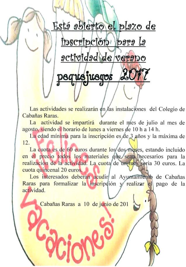 Cabañas Raras organiza su 'Pequejuegos 2017' 1