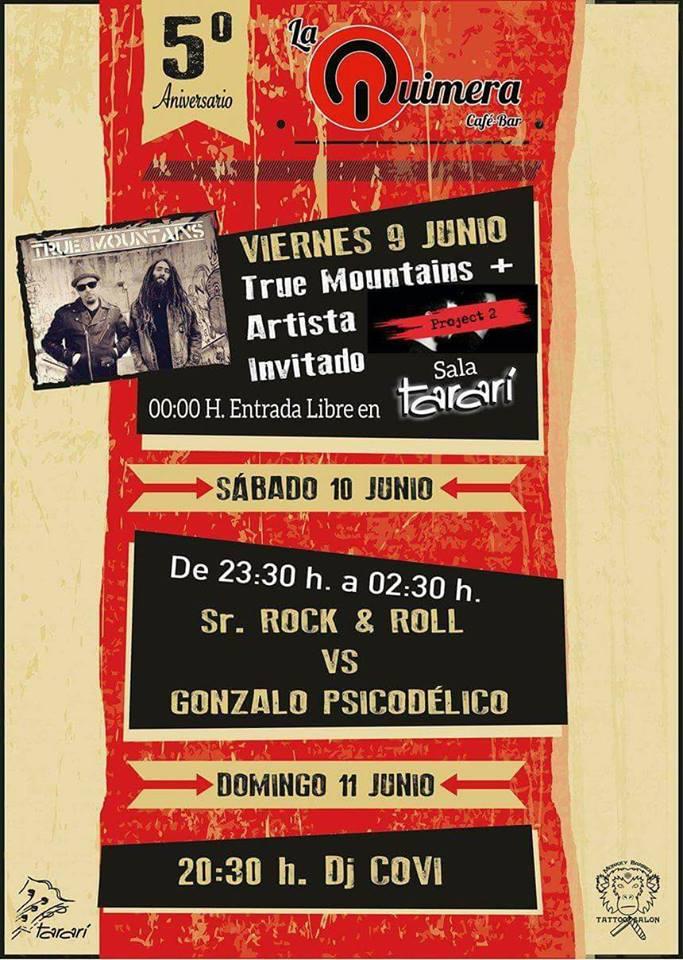 True Mountains en concierto, el viernes en Sala Tararí 1