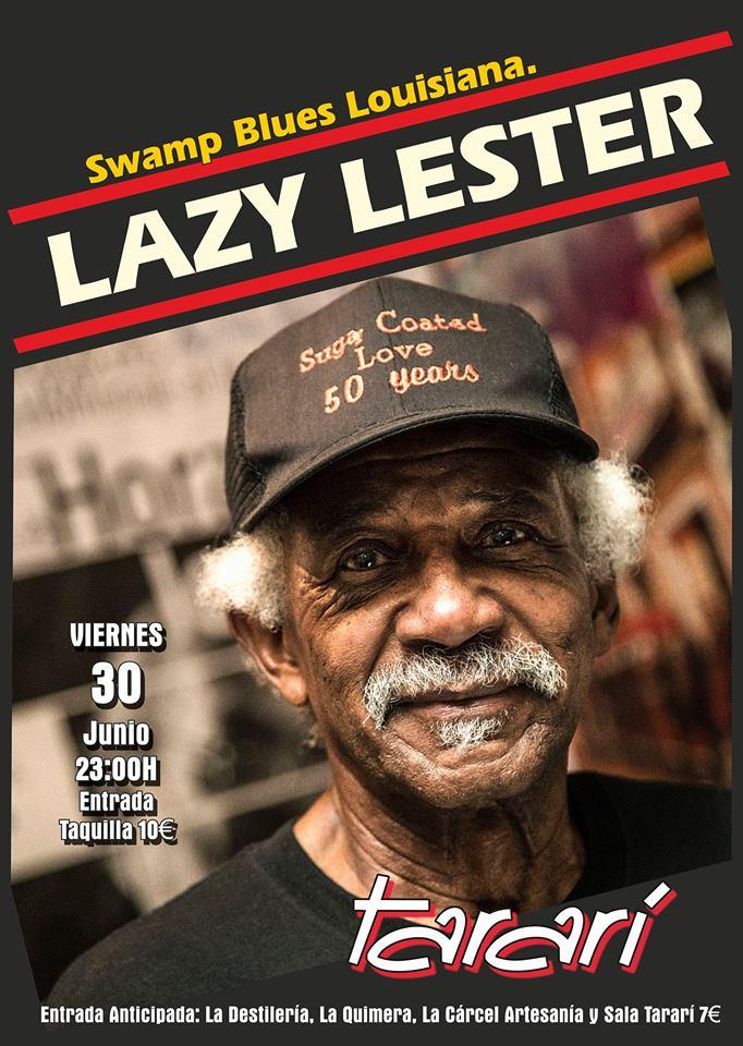 El Bluesman Lazy Lester llevará este viernes su mejor música al Tararí 1