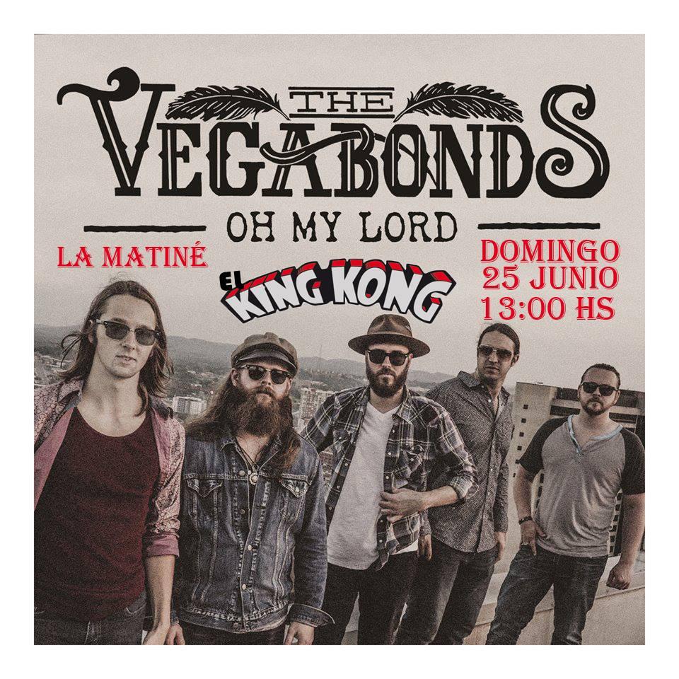 The Vegabons amenizan la matiné dominical de El King Kong 1