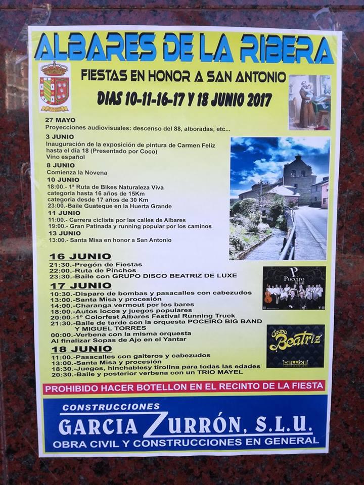 Fiestas en Albares de la Ribera 1