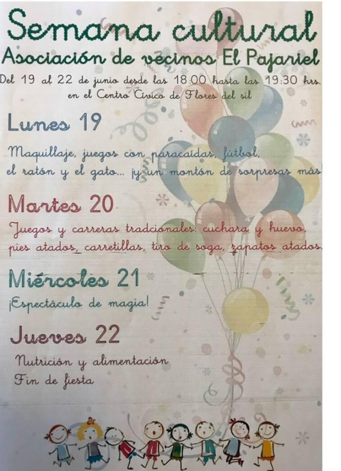 Semana Cultural de la Asociación de vecinos El Pajariel 1