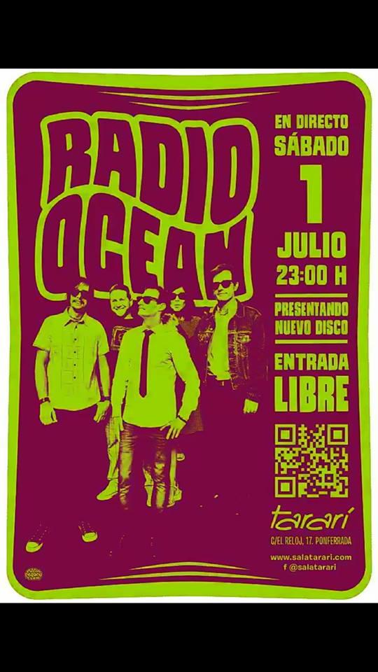 Los bembibrenses Radio Ocean presentan su disco en la Sala Tararí el sábado 1