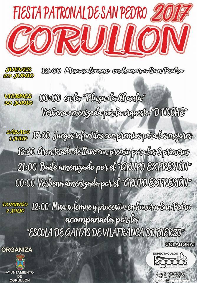 Corullón celebra San pedro 2017 1