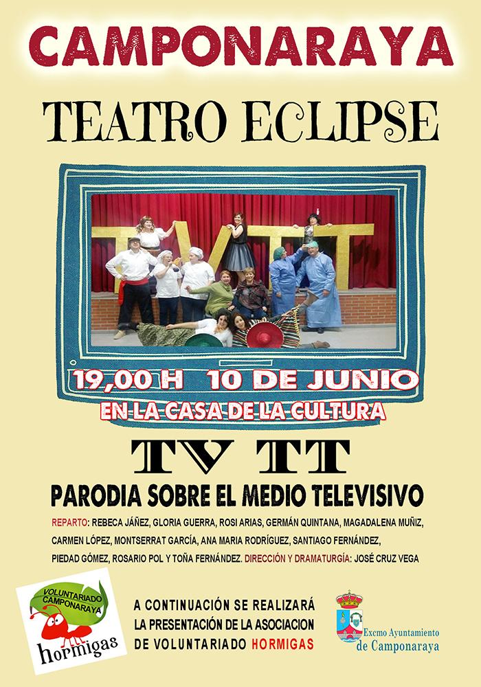 Teatro en Camponaraya: TV TT una parodia sobre la televisión 1