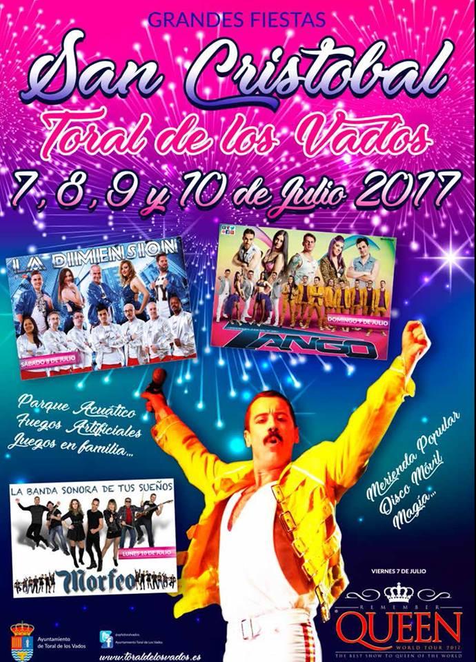 San Cristobal 2017 en Toral de los Vados 1