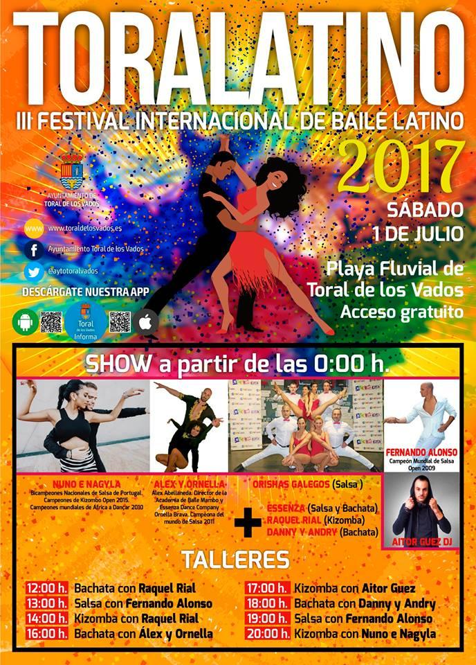 Toralatino 2017, III Festival internacional de Baile Latino 1