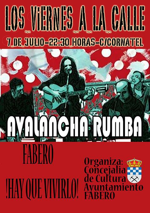 Fabero organiza un concierto de 'Avalancha Rumba' para la noche del viernes 1