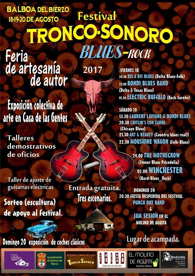 Balboa acogerá un nuevo festival de verano: Festival Tronco Sonoro. 1