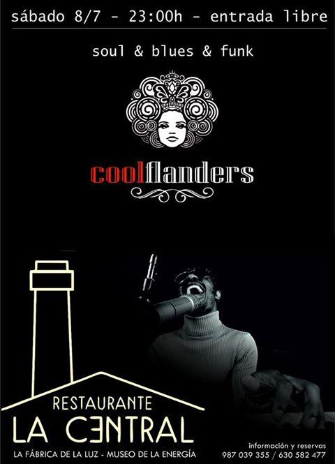 Cool Flanders, música en directo el sábado en La Central 1