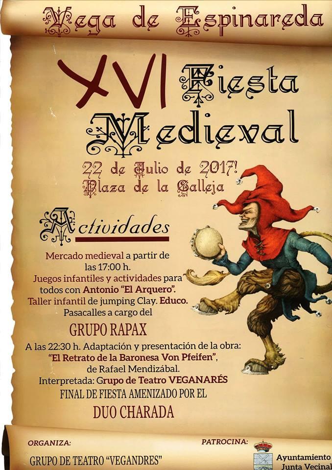 Vega de Espinareda se acerca al medievo el sábado 22 de julio 1