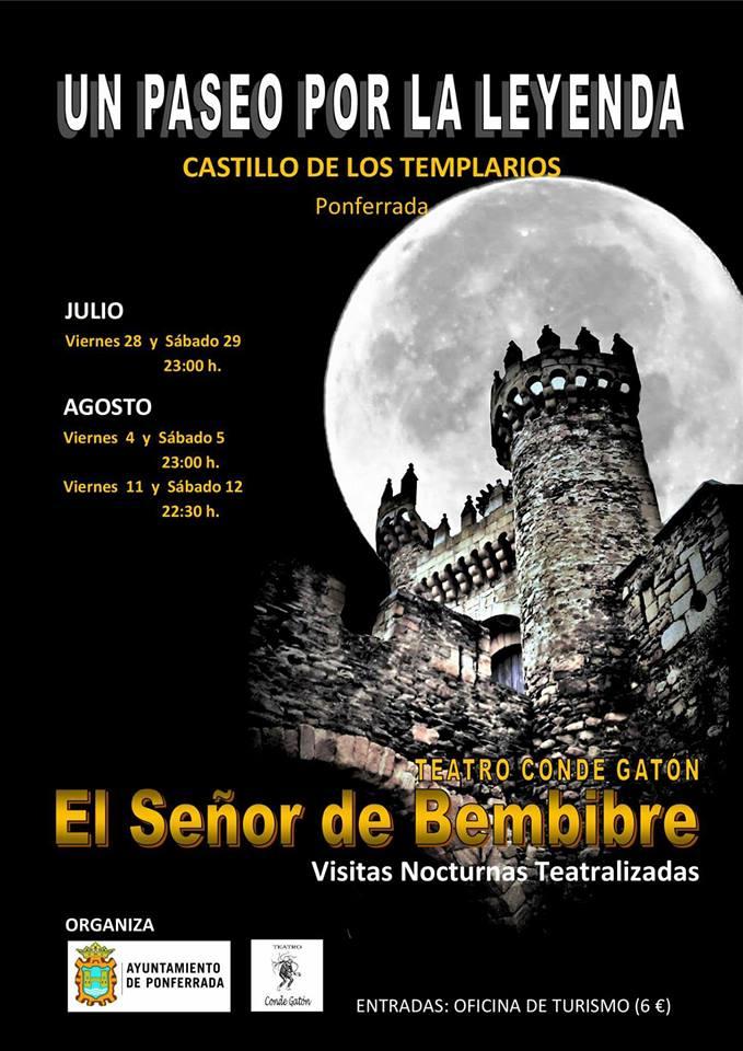 Visitas nocturnas teatralizadas al Castillo de los Templarios 3