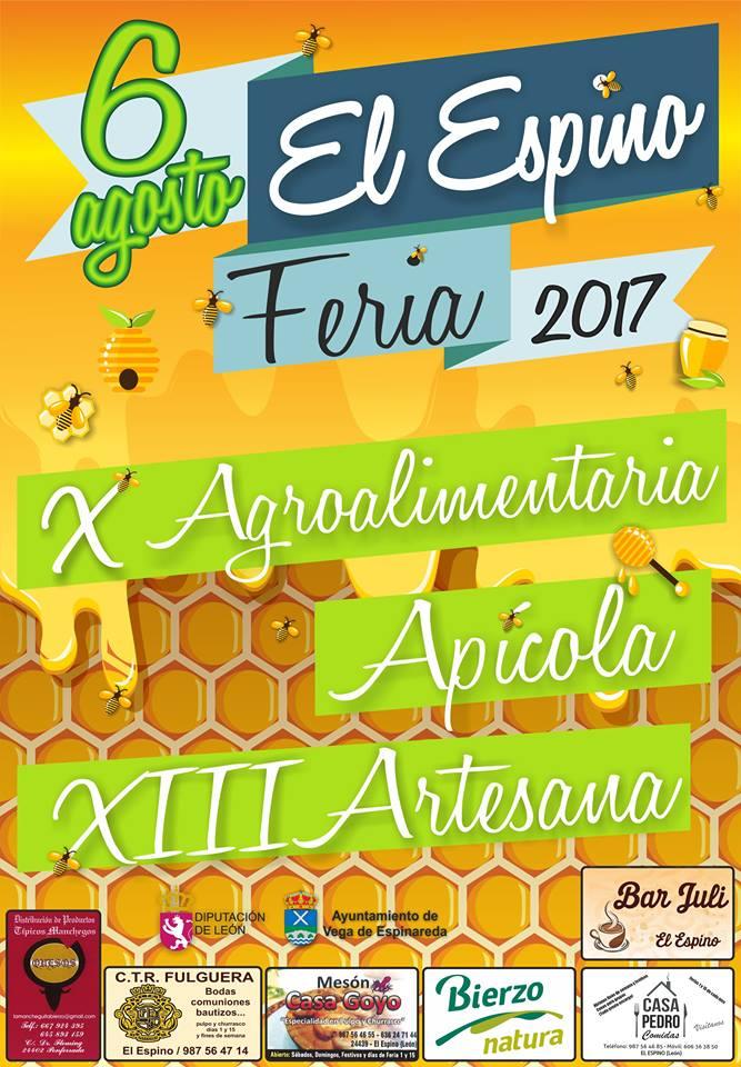 Feria agrolimentaria, apícola y artesana en El Espino 1