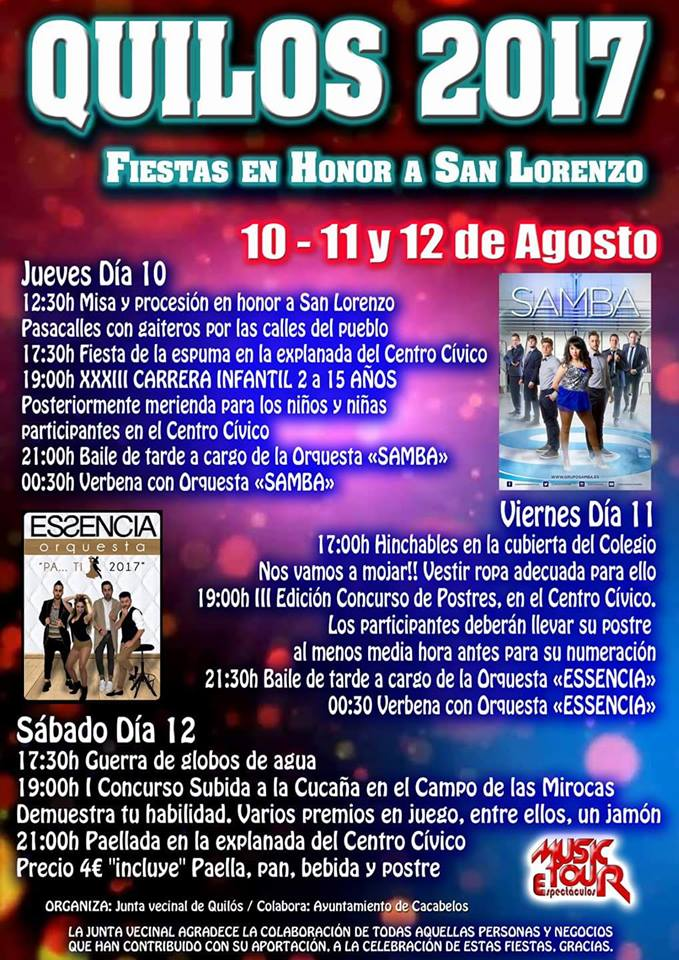 Fiestas de San Lorenzo 2017 1