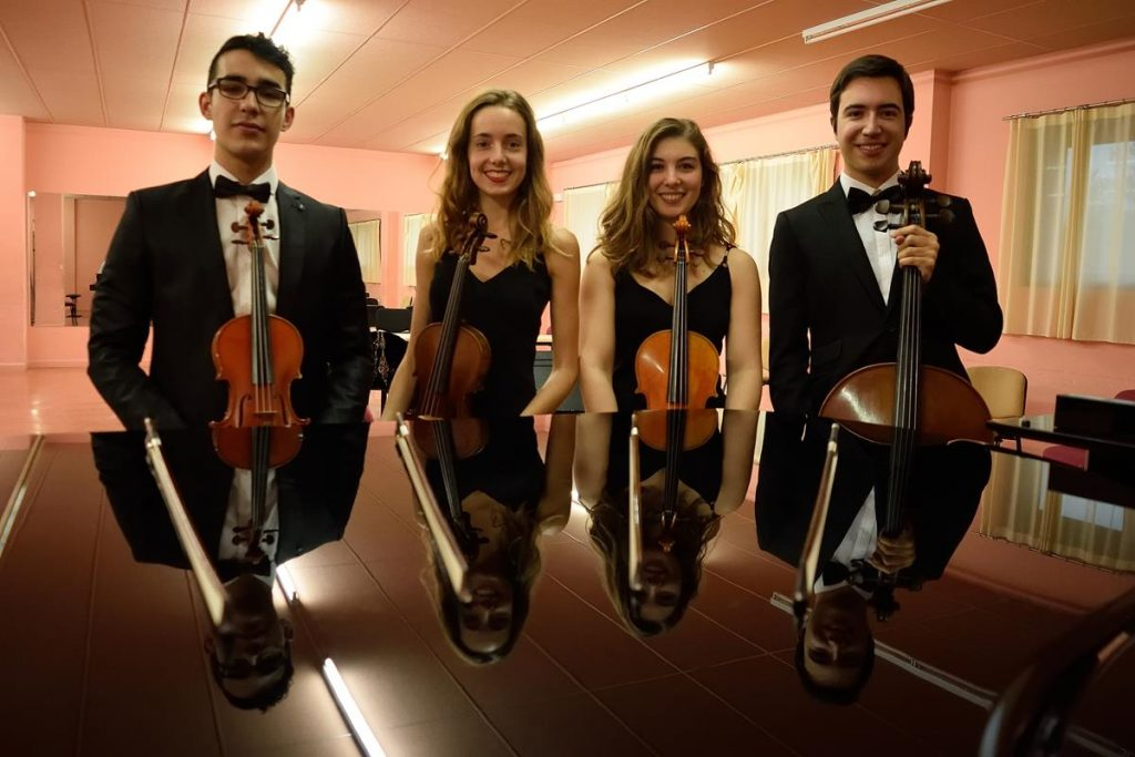 Mozart y Mendelssohn en el ciclo Corteza de Encina a cargo de un joven cuarteto de cuerda 1