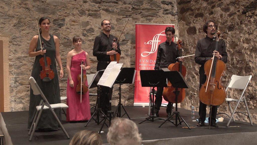 Corteza de Encina 2017. 05 Cuarteto Boissier. Cuarteto de cuerda 1