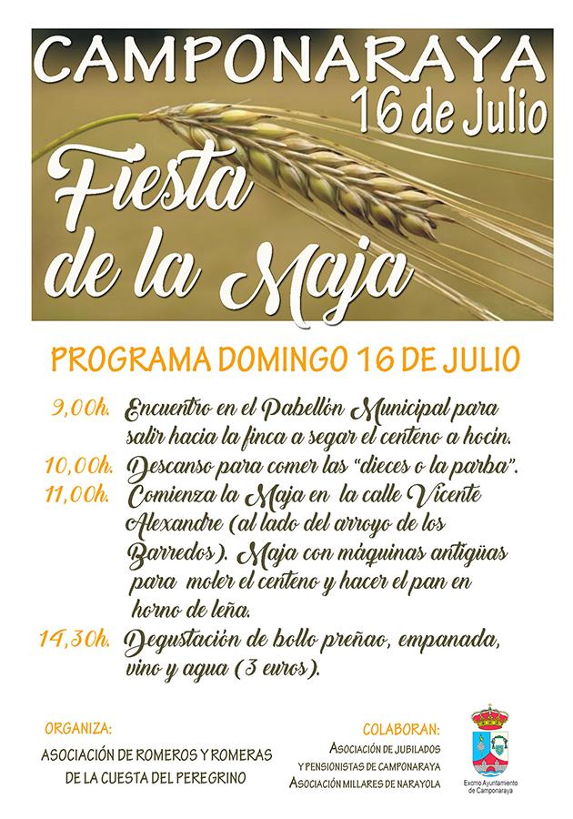 Fiesta de la Maja en Camponaraya 1
