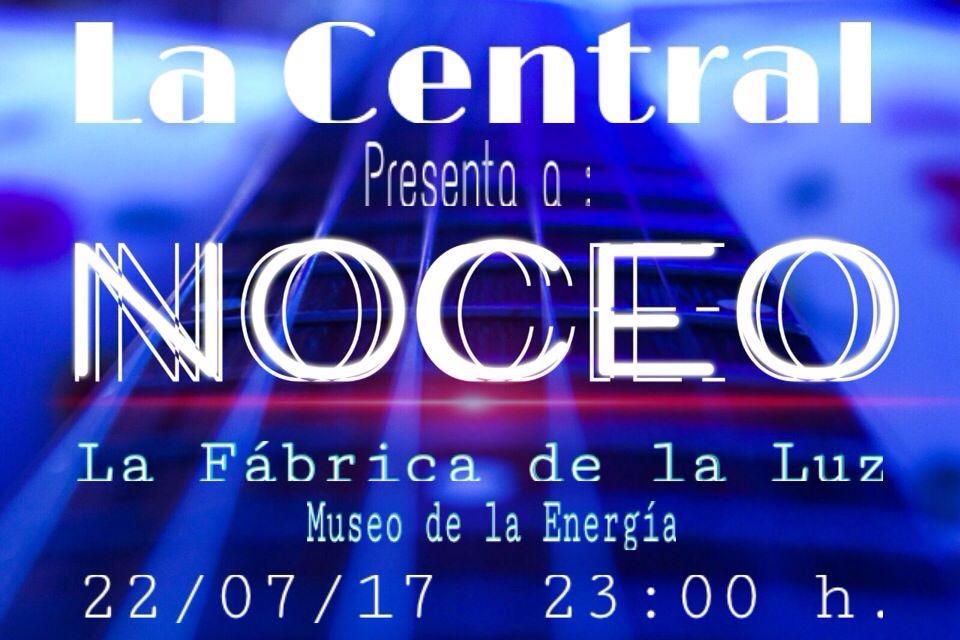 El restaurante La Central presenta a la banda NOCEO en directo para la noche del sábado 1