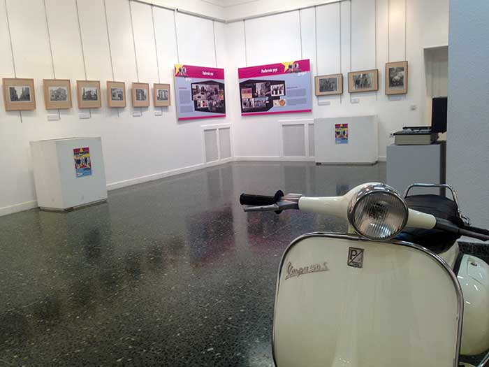 La Ponferrada Yeye reflejada en una exposición en la Casa de la Cultura 1