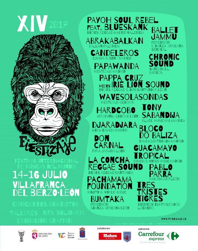 Fiestizaje 2017, el festival que fusiona los estilos musicales en Villafranca del Bierzo 1
