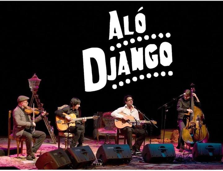 Sonido Gypsy swing con 'Aló Django' en el puente Romano de Molinaseca 1