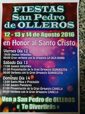Fiestas en San pedro de Olleros 1
