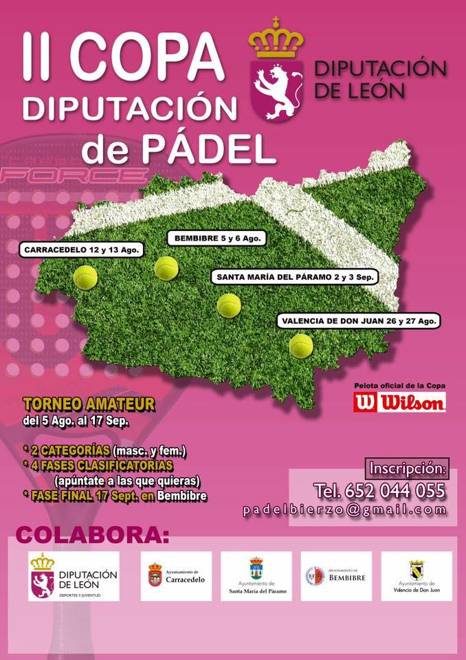 2ª Copa Diputación De Pádel (2ª Fase: Carracedelo) 1